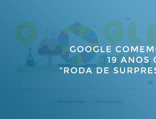 """Google comemora 19 anos com """"roda de surpresas"""""""