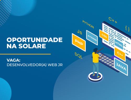 #Vaga Desenvolvedor(a) Web Jr